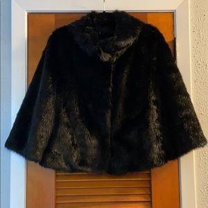 Faux Fur Black Jacket